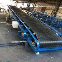 移動式糧食皮帶輸送機 食品廠用不銹鋼水平輸送機