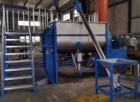 臥式螺帶型粉體混合包裝成套設備生產線