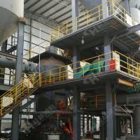 白云石粉體生產線設備大型礦粉立磨
