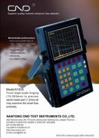 歐能達2300型-數字式超聲波探傷儀