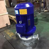 GWP不锈钢无堵塞管道泵