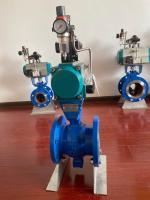 凯吉阀门气动V型球阀压滤机专用球阀、污水处理设备专用球阀
