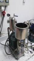 纳米银浆研磨机。铝银浆高速分散机