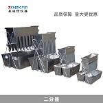 不锈钢二分器 白铁皮集料分样器